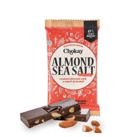 Chokay Mandel og sjøsalt med mørk sjokolade