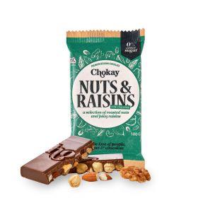 Chokay Nøtter og Rosiner med Melkesjokolade