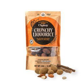 Chokay Premium lakris med knasende mandler og melkesjokolade