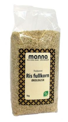 Ris, fullkorn Thai , langkornet