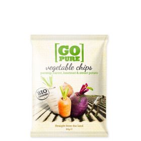 Go Pure vegtable chips 90 gr