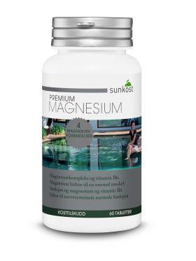 Sunkost Premium Magnesium 60 kap