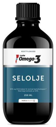 Ruis Omega-3 Selolje flytende 250 ml