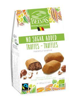 Hasselnøtt trøfler sukkerfrie (ØKO)