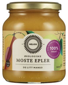 Helios Eplemos med mango 360 gr