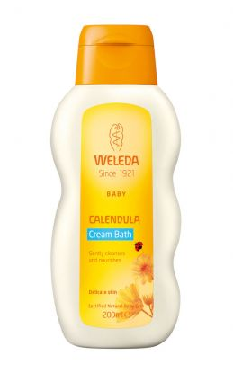 We Calendula cream bath