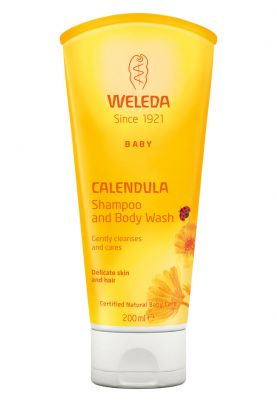 Weleda Calendula shampoo & body wash 200 ml