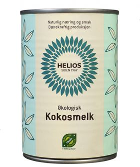 Helios Kokosmelk 400 ml