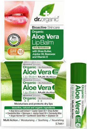 Dr.Organic Aloe Vera lip balm