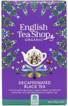 English tea shop svart te uten kofein