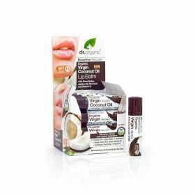 Dr.Organic Coconut oil lip balm 5,7 ml