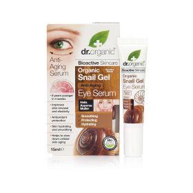 Dr.Organic Snail gel eye serum
