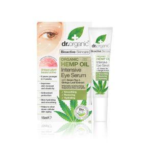 Dr.Organic Hemp intesive eye serum 15 ml