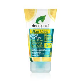 Dr. Organic skin clear cleansing face wash 125 ml