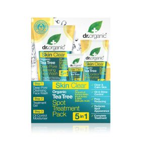 Dr.Organic skin clear spot treatment pack