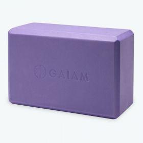 Gaiam Yoga Block Purple