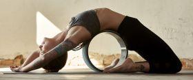 Gaiam Eco Yoga Wheel Granite