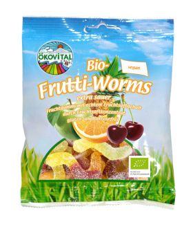 Økovital Fruktormer veganske og glutenfri