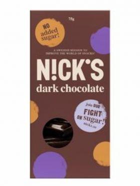 NutriNick stevia choco dark