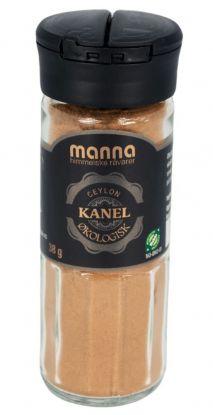 Manna Kanel Ceylon, malt, øko 38 gr