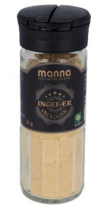 Manna Ingefær, malt 28 gr