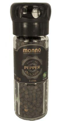 Manna Pepper,hel, økologisk 50 gr