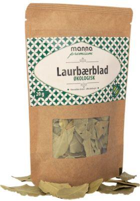 Manna Laurbærblad, økologisk 20 gr