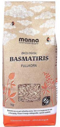 Manna Basmatiris Fullkorn