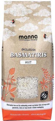Manna Basmatiris Hvit