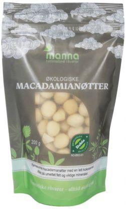 Manna Macadamianøtter 200 gr