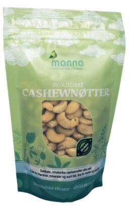 Manna Cashewnøtter u/salt 250 gr
