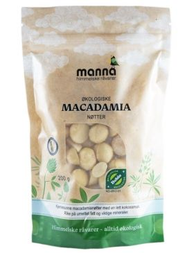 Manna Macadamianøtter