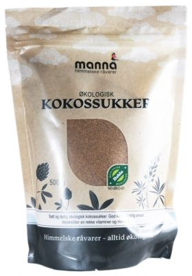 Manna Kokossukker
