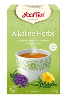 Yogi te alkaline herbs