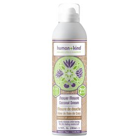 Human+Kind Shower Mousse Coconut Dream 200 ml