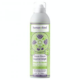 Human+Kind Shower Mousse Grape 200 ml