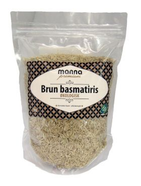 Manna Basmati ris brun 1 kg