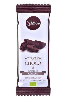 Deliraw choco bar 30 gr