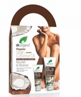 Dr.Organic Virgin Coconut Oil Nourish & Restore Gift set