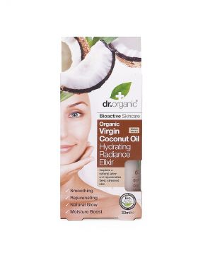 Dr.Organic Coconut oil hydrating radiance elixir 30 ml