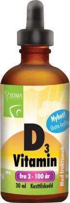 Vitamin D3 med sitronsmak
