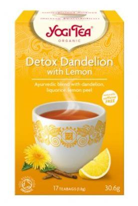 Yogi Te detox dandelion med sitron
