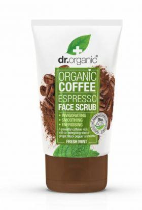 DrOrganic Coffee Mint Face Scrub
