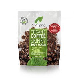 Dr.Organic Coffee Kroppskrubb m/ duft av frisk mint