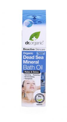 Dr.Organic Dead sea bath oil
