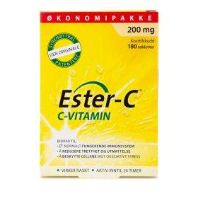 Ester-C 200 mg - 180 tabletter