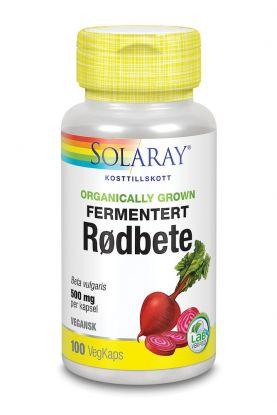 Solaray Fermentert Rødbete