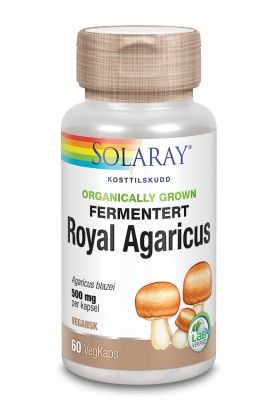 Solaray Fermentert Royal Agaricus