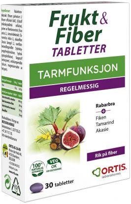 Frukt & Fiber tabletter