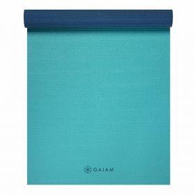 Gaiam 4mm Yoga Mat Open Sea